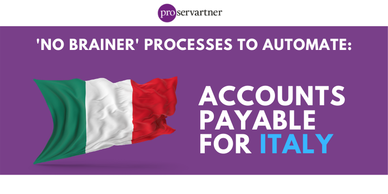'no brainer' processes to automate_ accounts payable italy