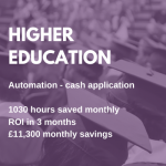 HIGHER EDUCATION rpa case study