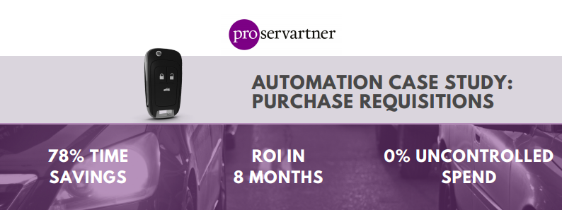 automaton purchase requisitions case study