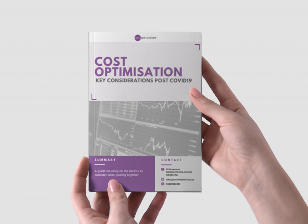 proservartner cost optimisation whitepaper