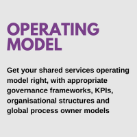 shared services operating model