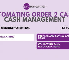 Automating O2C: Cash Management