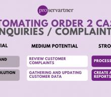 Automating O2C:Enquiries/Complaints